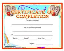 printable bible award certificates