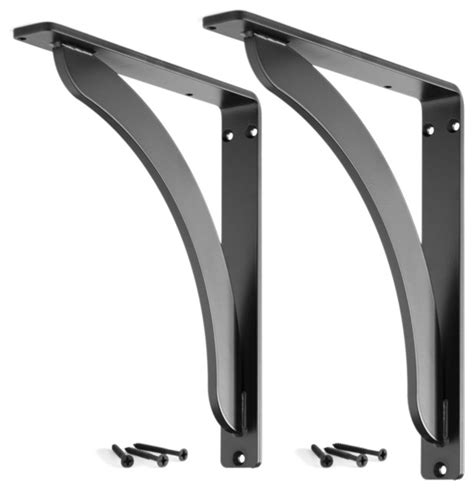 stout iron shelf bracket set of 2 contemporary