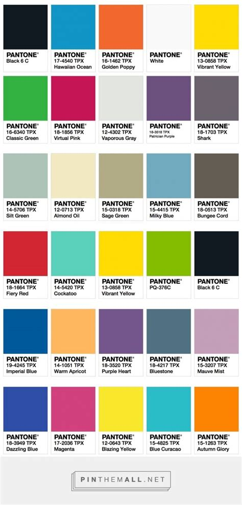 trending color palettes ispo color palette fall winter 2017 2018 fashion