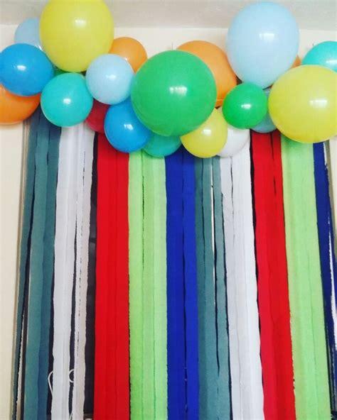 imagenes de cadenas de papel crepe as 20 melhores ideias de cortina de papel crepom no