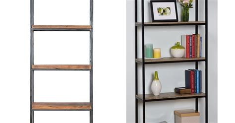 ikea hack wood and metal bookshelf hometalk