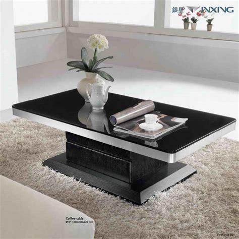 Modern Living Room Table Sets Black Coffee Table Sets For Living Room