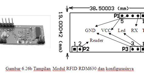 Alat Rfid tutorial membuat alat dengan rfid rdm630 rdm6300