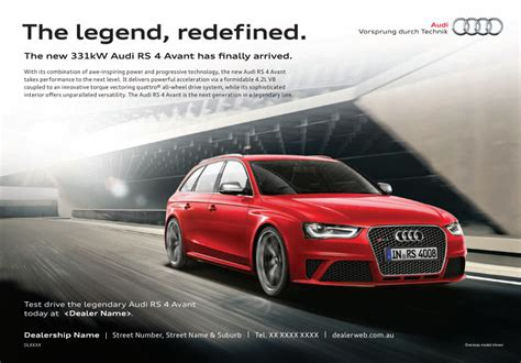 audi ads audi press ads various models jono wright copywriter