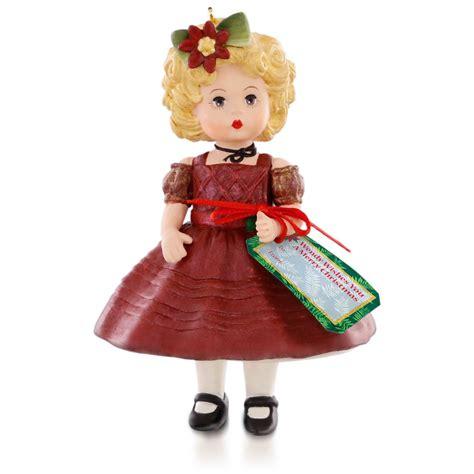 madame alexander doll hallmark keepsake ornament hooked  hallmark ornaments