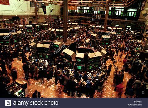 Nyse Floor by 1989 1980s New York Stock Exchange Trading Floor Stock