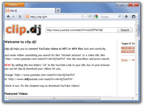 download mp3 from youtube clip convert and download youtube videos to hq mp4 mp3 with