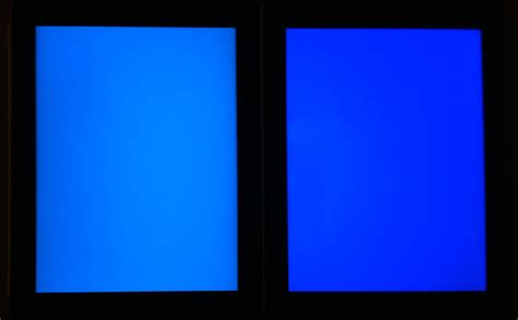 new blue color why the new displays near colors