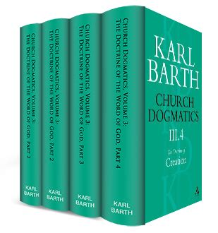 church dogmatics volume 3 the doctrine of creation 4