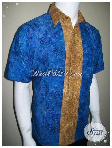 Gamis Pria Elegan baju batik pria anak muda batik cap modern elegan