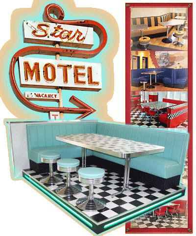 American Diner Einrichtung by Diner M 246 Bel Im American Diner Style Dinerb 228 Nke Tische