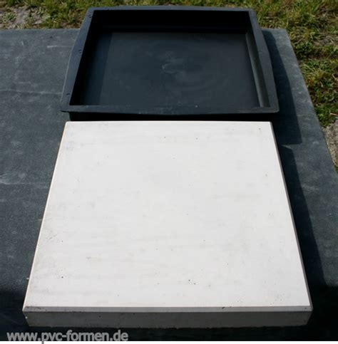 Betonplatten Selber Herstellen by 2 Formen Giessformen F 252 R Betonplatten 31x31x4 Cm Ebay