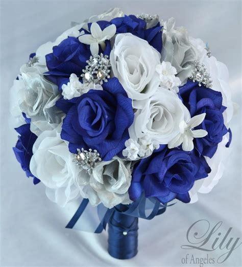 Wedding Bouquet Decorations by 17 Package Wedding Bouquet Silk Flowers Bridal