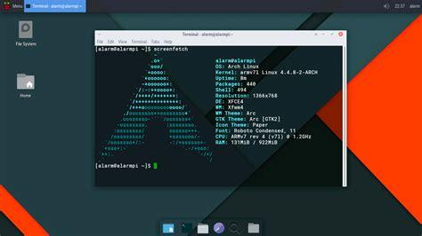 tutorial arch linux raspberry pi raspberrypi 3 install configure archlinux xfce f2fs