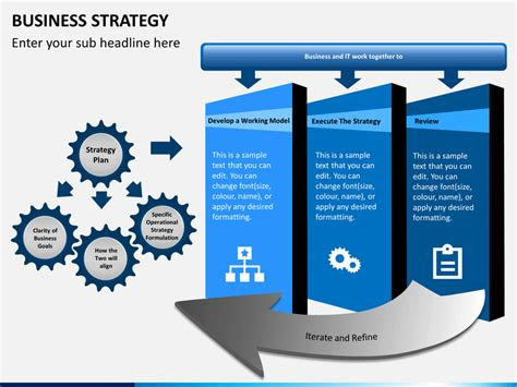business strategy template powerpoint business strategy powerpoint template