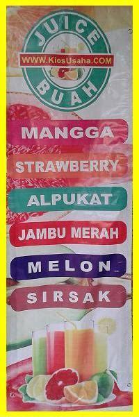 desain banner jus buah jus buah peluang usaha modal kecil