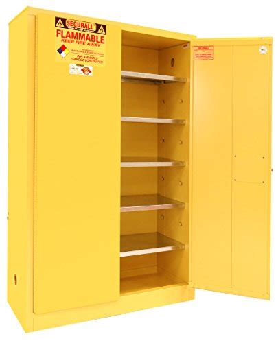 Paint Storage Cabinets Securall P160 Paint Ink Storage Cabinet 2 Doors 15 Yr Warranty 65 X 43 X 18 In 18