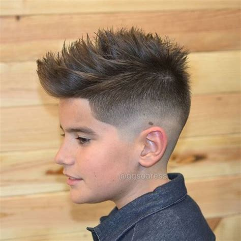 boys cool faded fohawk haircut 50 superior hairstyles and haircuts for teenage guys in 2018