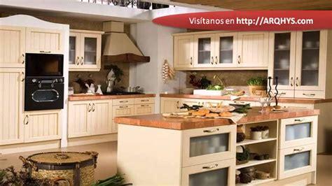 ver cocinas rusticas cocinas rusticas de madera youtube