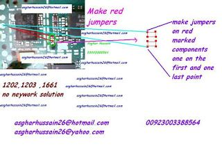 solution mobile: nokia 1202 1661 pa ic jumper