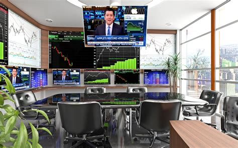 live stock trading room entry 45 by fernandotv12 for design a high tech stock