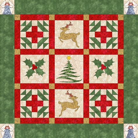 pattern for christmas quilt 174 free christmas quilt patterns and projects deb ann s