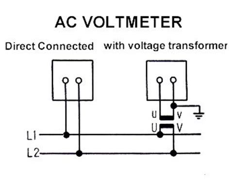 voltmeter wiring diagram 24 wiring diagram images