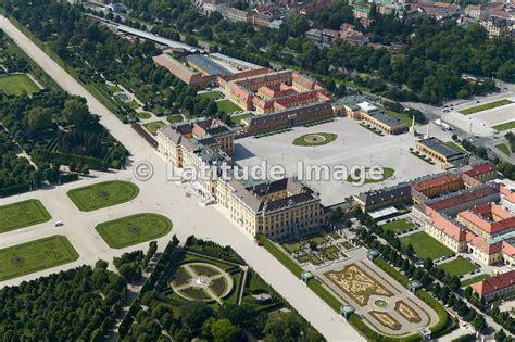 latitude image sch 246 nbrunn palace vienna aerial photo