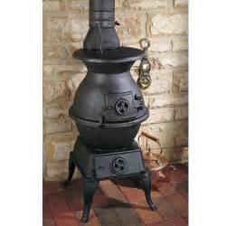 clarke large potbelly stove