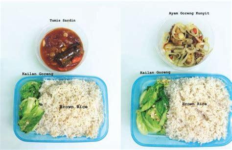 menu lunch box viral buat pasangan  jaga badan