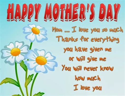 happy mother s day quotes messages poems cards