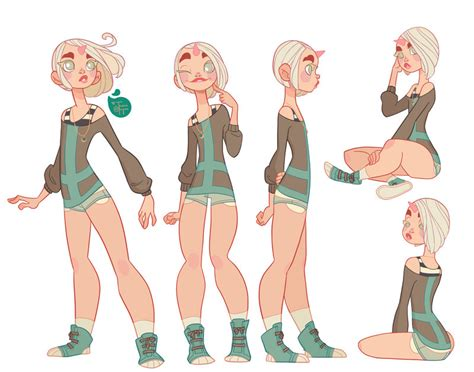 animation character layout character design colored echo by meomai on deviantart