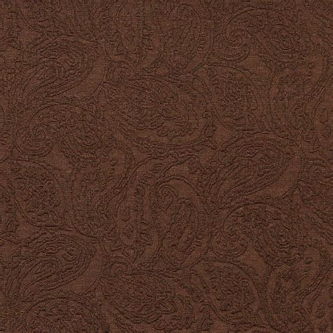 brown paisley upholstery fabric brown traditional paisley woven matelasse upholstery grade