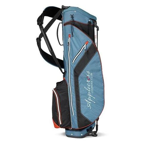 Handmade Golf Bags - titleist custom logo ultra lightweight stand bag golfballs