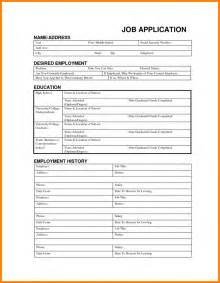 Free Employment Application Templates by 9 Free Application Template Budget Template