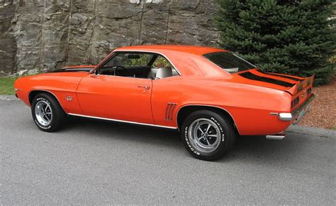hugger orange 1969 camaro paint cross reference