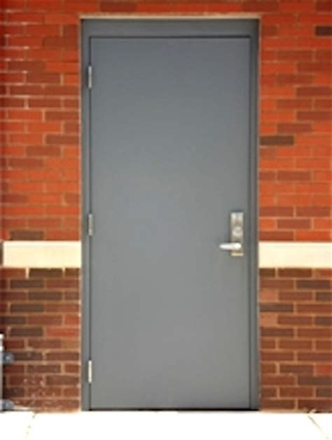 Exterior Commercial Metal Doors Hollow Metal Doors Personnel Doors Doors