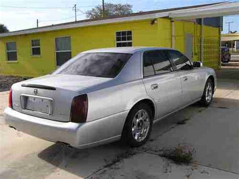 how cars work for dummies 2001 cadillac deville electronic throttle control buy used 2001 cadillac deville dts four door sedan silver project car in punta gorda florida