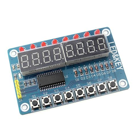 led free shipping best sell aliexpress buy free shipping key display for avr arduino new 8 bit digital led 8 bit