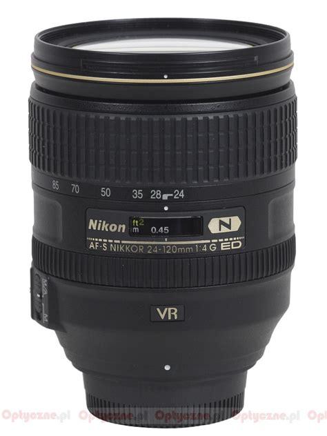 nikon nikkor af s 24 120 mm f 4g ed vr review