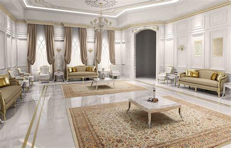 classic luxury villa interior design doha qatar cas