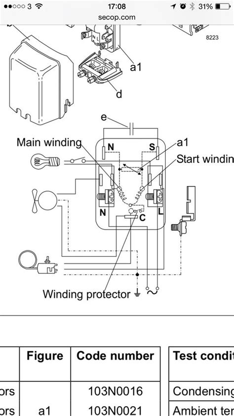 refrigerator compressor wiring diagram electrical wiring