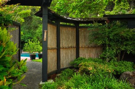 bamboo ideas for backyard natural bamboo fence adds an element of inimitable style
