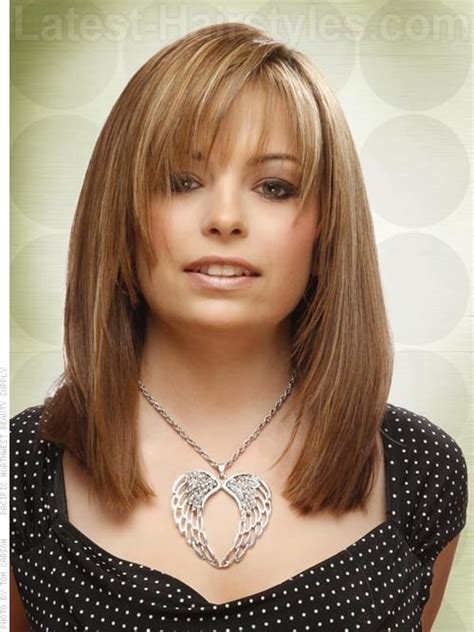 hair length to elongate the face framed beauty layered style medium length hair hair