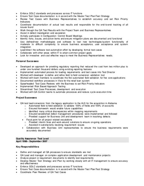 Lead Web Developer Sle Resume by Involved In Sdlc Resume 28 Images Sofware Development Lead Resume Sle Sdlc Project Manager
