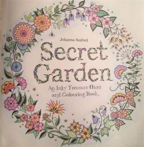 secret garden coloring book gallery 357 best secret garden coloring book images on
