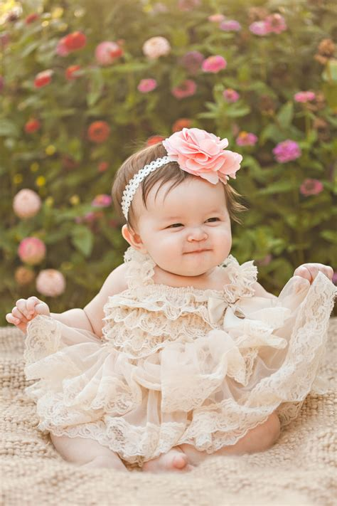 Dress Olla Flowers infant flower dresses 3 6 months criolla brithday