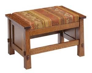 Mission Ottoman Olde Mission Ottoman Ohio Hardwood Furniture