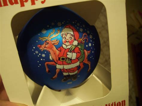 cbell s soup christmas kids ornament mib blue rare ebay