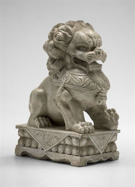 decorative sculptures for the home foo dog plaster statue by cyan design
